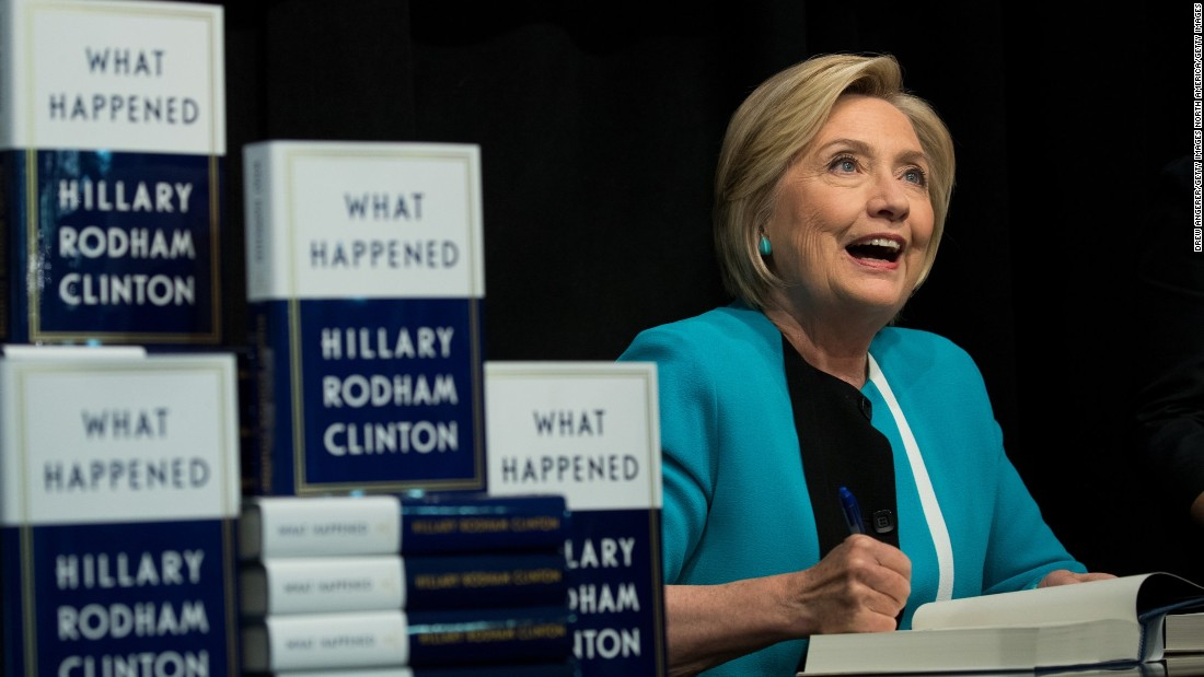 How is hillary clintons book doing