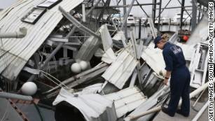 Vital aid stranded at Puerto Rico's main port