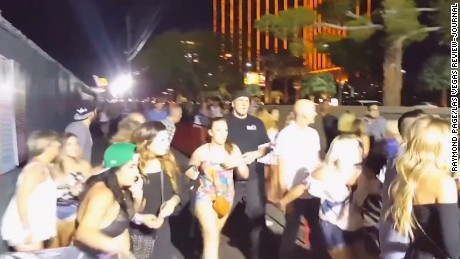 New video shows concertgoers fleeing scene