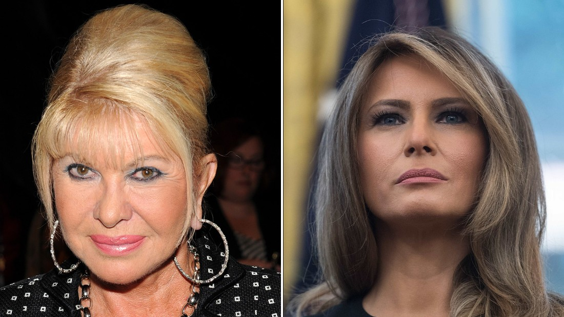 Ivana Trump Says Shes the Real First Lady, Melania