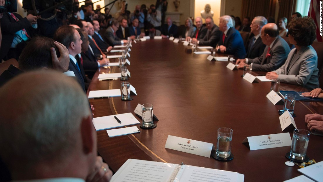 25th Amendment Deposing Trump Would Require Cabinet